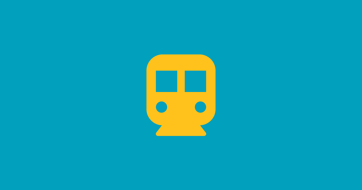 Rail Transit Icon