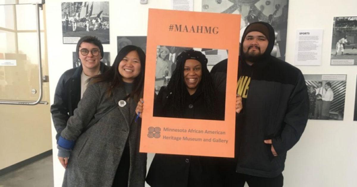 Move Minnesota Staff at the Minnesota African American Heritage Museum