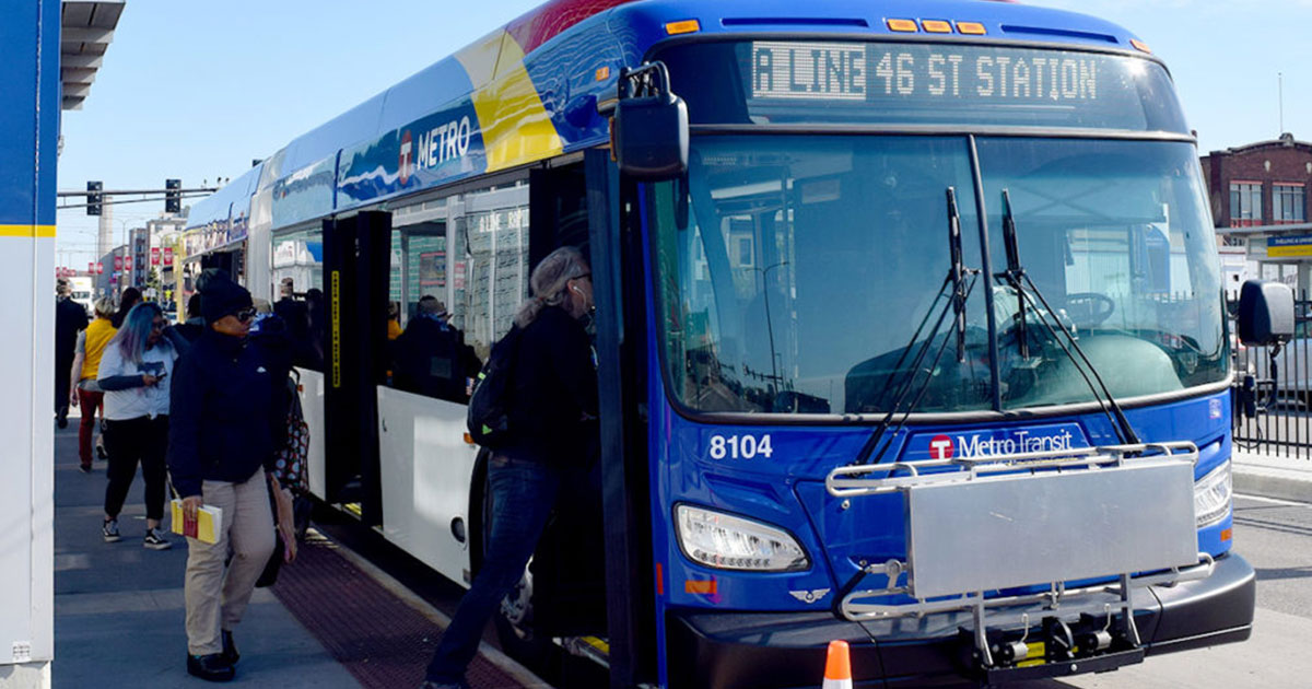 Metro A Line Bus