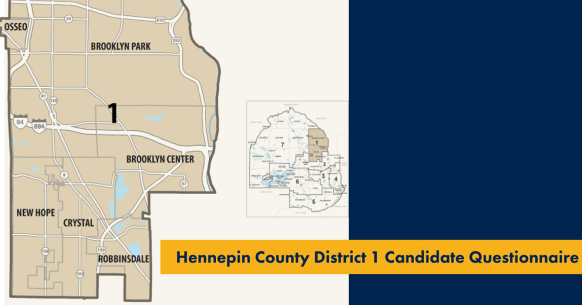 Hennepin county district 1 map