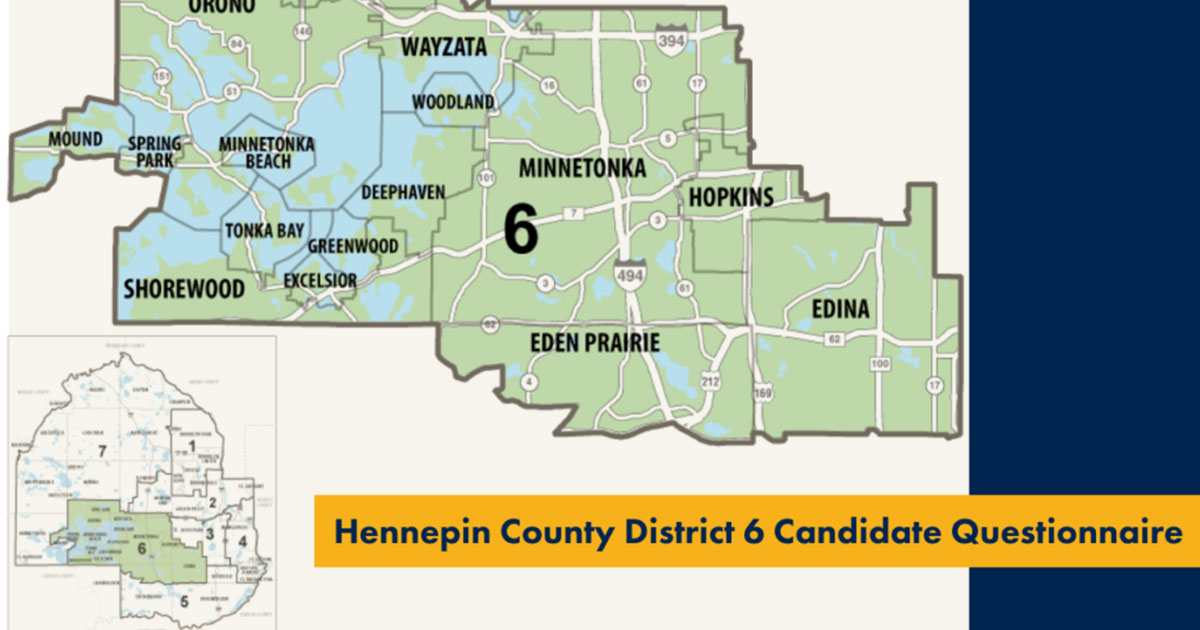 Hennepin county district 6 map