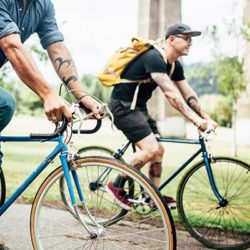 Group bicycling