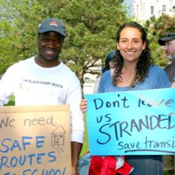 Transit supporters