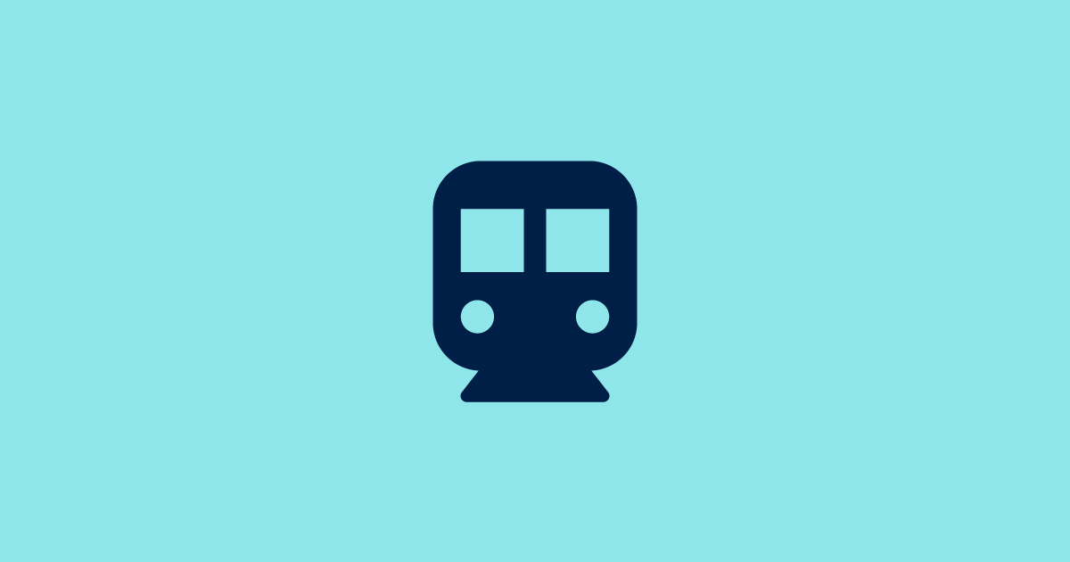 Icon image of a lightrail train