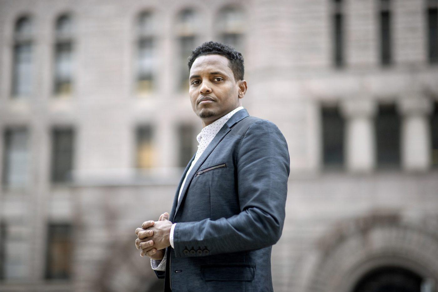 Jamal Osman of ward 6
