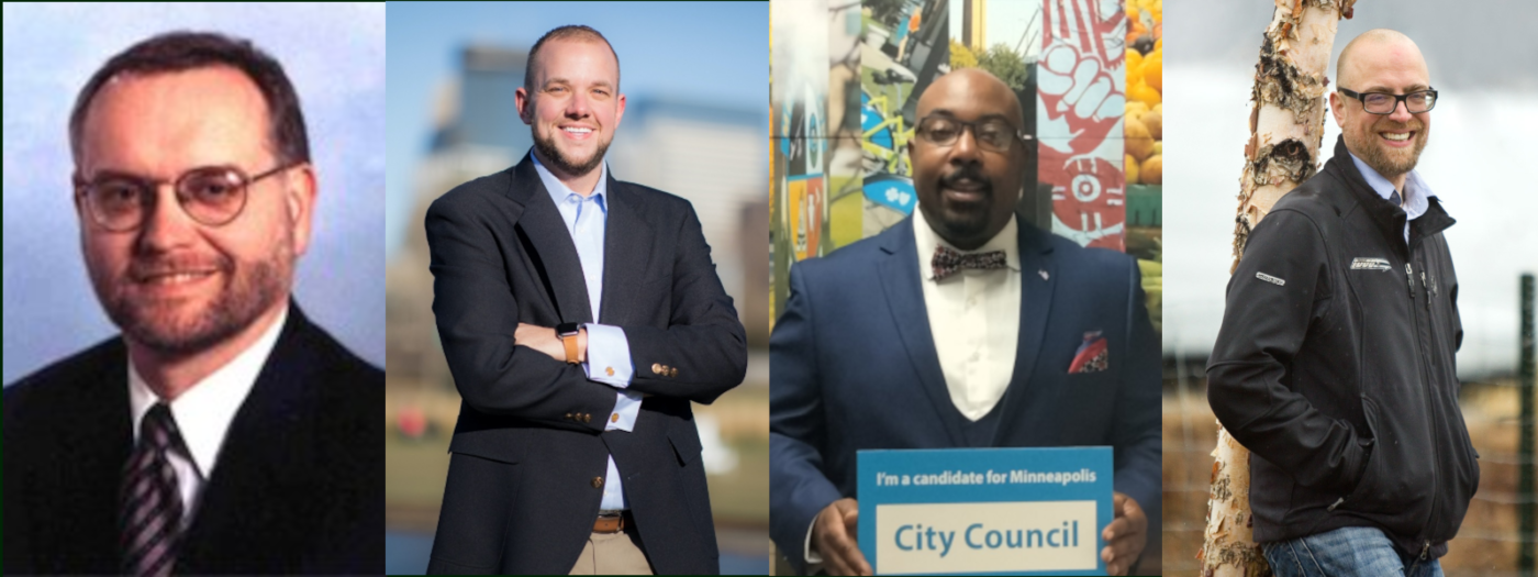 The four candidates from ward 11 that responded
